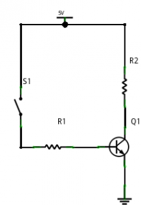 NPN transistor - using method