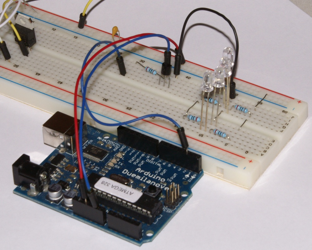 Basics Archives Starter Kit The Two Circuits Carefully Compare Pictures To Breadboard Physical Construction Take