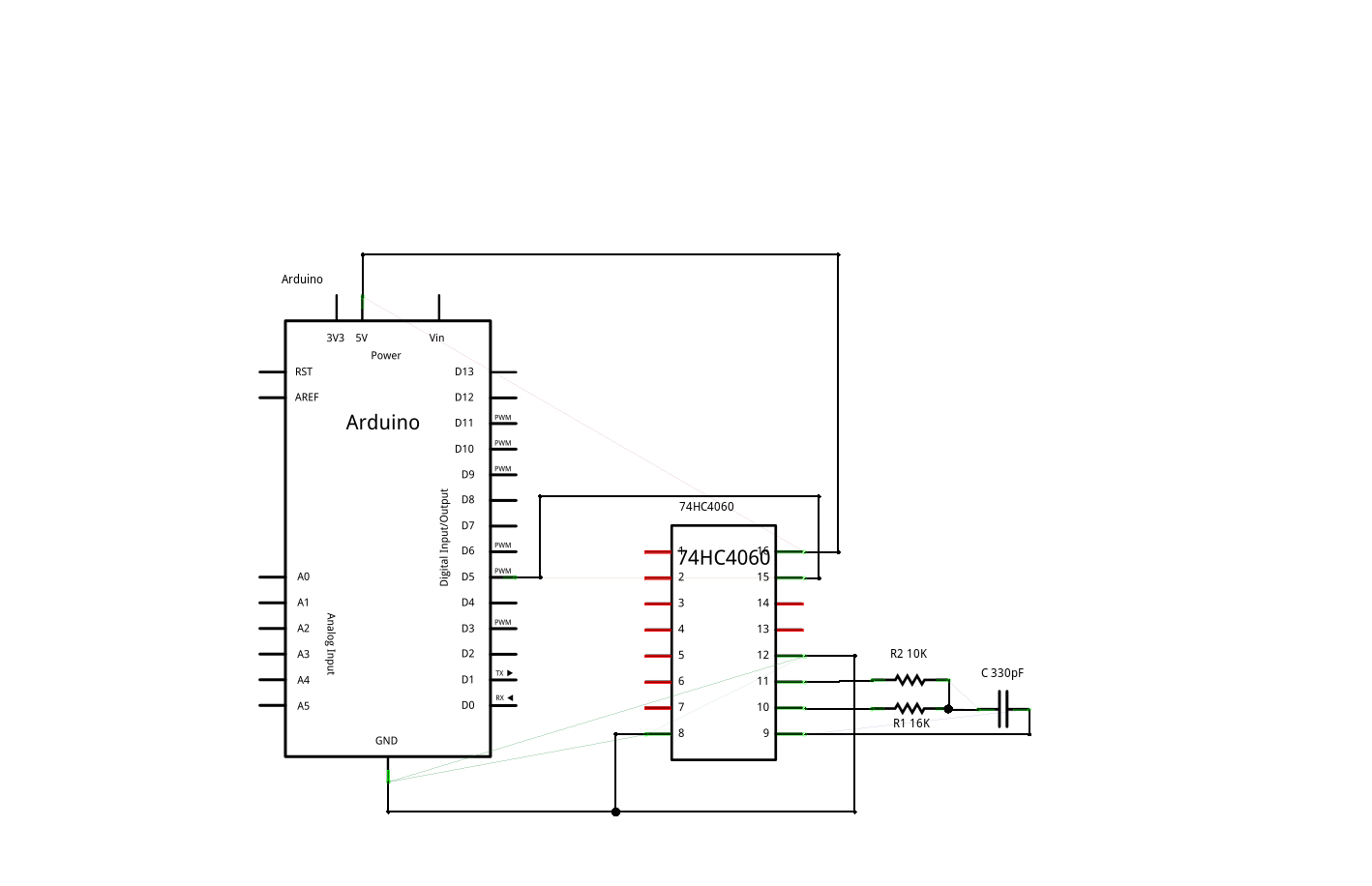Humidity Sensor Starter Kit Frequency Rc Circuit This Time Charging And Discharging The Capacitor Is Handled By Ic Dependent On Attached