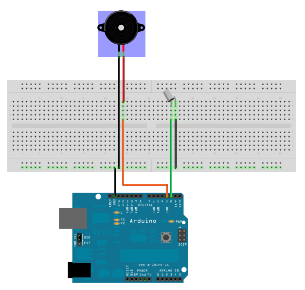 Wind Sensor furthermore Morse Code Device as well 7 likewise Experiment 11 Using A Piezo Buzzer in addition 7950. on arduino piezo