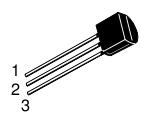 MPS2222A - pinout
