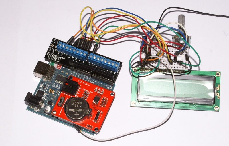 Arduino and time, or DS1307 – Starter Kit